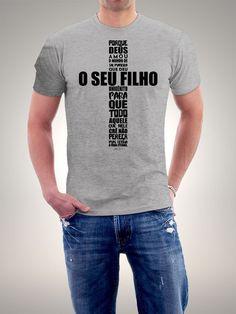 Camiseta Porque Deus Amou