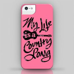 countrymusic My Life is a Country Song (iPhone 4 / 4S / 5 Case) from Howdy Girl