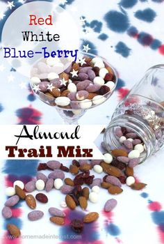 4th of july trail mix recipe