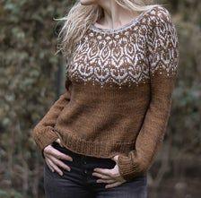 Fair Isle Knitting Patterns, Sweater Knitting Patterns, Knit Patterns, Heidi May, Icelandic Sweaters, Nordic Sweater, Stockinette, Knit Crochet, Ravelry