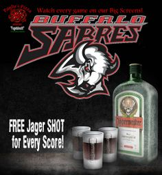 Score free shots during every Sabres Game!