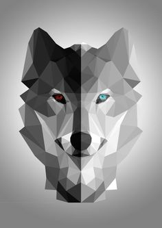 Wolf Wallpaper, Animal Wallpaper, Wallpaper Desktop, Disney Wallpaper, Wallpaper Quotes, Wallpaper Backgrounds, Animal Drawings, Art Drawings, Geometric Wolf