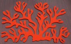 Antler Coral placemat