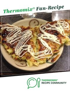 Japanese Okonomiyaki - Vegetable Pancake by lkapitany. A Thermomix ® recipe in . Japanese Okonomiyaki - Vegetable Pancake by lkapitany. A Thermomix ® recipe in the category Main dishes - vegetarian on www., the Thermomix ® Community. Egg Recipes, Asian Recipes, Cooking Recipes, Vegetarian Bacon, Vegetarian Recipes, Japanese Pancake, Japanese Food, Okonomiyaki Recipe, Savoury Slice