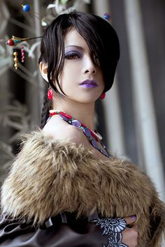 your sugar sits untouched;, stupidsexycosplay: Cosplay of Lulu from the game...