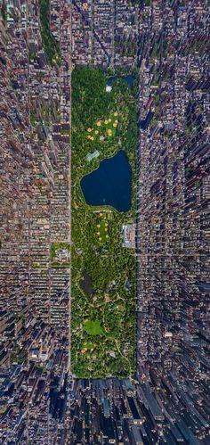 Arte y Arquitectura: 7 impresionantes registros aéreos de ciudades