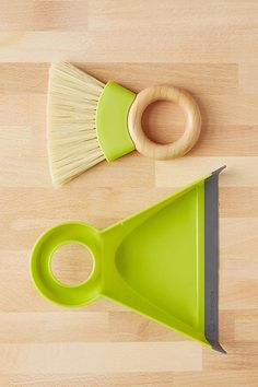 Almost Too-Pretty Cleaning Products For Your Arsenal #refinery29  http://www.refinery29.com/pretty-cleaning-products#slide-6  The person cleaning up a broken wine glass will not mind using this dustpan.