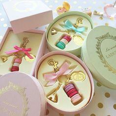 Macaron keychains