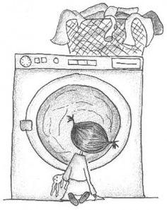Ideeën rond wasmachines en kleren Ga In, Make Believe, White Pencil, My Black, Projects To Try, Doodles, Sketches, Drawings, School