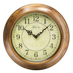 "Infinity Instruments 14.13"" Keeler Wall Clock  #clocks #wallclock #walldecor #homedecor #decor"