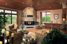 Traditional Small Home Bar Family Room Design Ideas Pictures