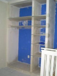 Em construção: moveis em alvenaria