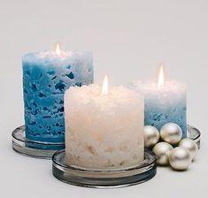 Ice CandlesDIY Homemade Gifts for Christmas - Ice Candles - Click pic for 25 DIY Christmas Gifts