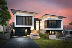 Architecture Rawson Parade, Caringbah South, NSW 2229 - Property Details Along with publications Duplex House Design, Townhouse Designs, Dream Home Design, Modern House Design, Semi Detached, Detached House, Modern Exterior, Exterior Design, Duplex Floor Plans