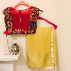 Beautiful saree and blouse