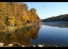 Rose Lake at Hocking Hills State Park