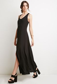 forever-21-black-strappy-button-down-maxi-dress-product-2-396934313-normal.jpeg (750×1101)