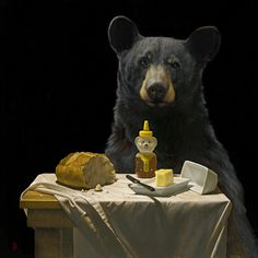 Aaron Brent Harker. ..bear art
