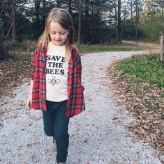Save the Bees tee  toddler / youth shirt  by MagnoliaRootsCo