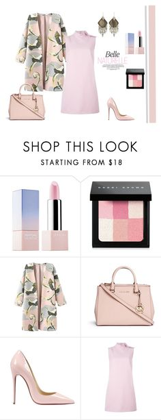 """""""Pastel"""" by stavrolga ❤ liked on Polyvore featuring Sephora Collection, Bobbi Brown Cosmetics, Michael Kors, Christian Louboutin, RED Valentino, Alexis Bittar, women's clothing, women's fashion, women and female"""