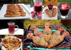 ecuadorean food  colada morada con munecas de pan| Día de los Difuntos or Day the Deceased in Ecuador