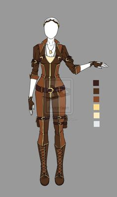 Adoptable outfit 2(closed) by LaminaNati on DeviantArt