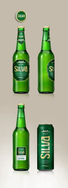 Silva Beer Packaging Concept by Bojan Spasić, via Behance