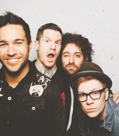 Pete Wentz, Andy Hurley, Joe Trohman and Patrick Stump :)