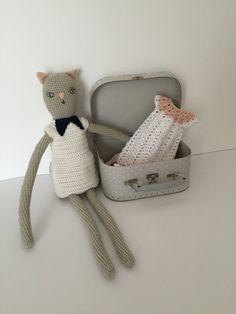 Crochet cat doll pattern by Melosina