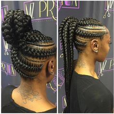 Try these 20 iverson braids hairstyles with images tutorials african hair braiding an excellent way to transition from permed to natural hair you can try box braids kinky twists corn rows and more urmus Images