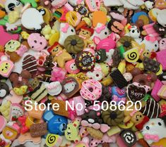 Free Shipping! 100Pcs Very Hot and Kawaii Mixed Resin Cake Ice Cream Cookies Candy Flatback Cabochon Scrapbook-in Resin Crafts from Home & Garden on Aliexpress.com   Alibaba Group