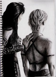 Xena and Gabrielle III by DarkButSoLovely.deviantart.com