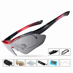 Polarized UV400 Proof Outdoor Sport Sunglasses