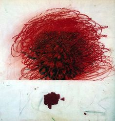 Cy Twombly. This painter has the ability to turn emotions into touchables, marvellous  pieces of Art. That's how I feel right now. (text by Gabriela Morgan, March 2016)