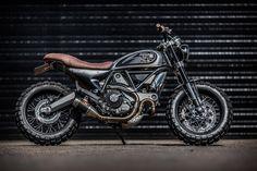 Custom Ducati Scrambler by Down & Out Cafe Racers – Men's Gear