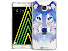 Coque Crystal Galaxy A5 2016 (A510) Extra Fine Polygon Animals - Loup - 7,90 €