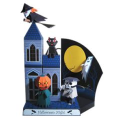 Halloween Night - Halloween - Parties & Events - Paper Craft - Canon CREATIVE PARK