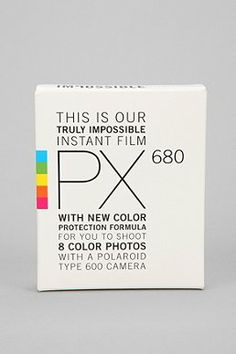 Impossible PX 680 Color Shade Instant Film