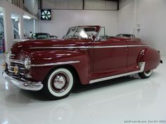 1948 PLYMOUTH SUPER DELUXE CONVERTIBLE