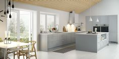 Norema - Format lys grå Decor, Living Room, Furniture, Home Collections, House, Living Room Kitchen, Home, Table, Kitchen