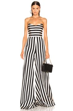 9f9ac8514394 Shop for Caroline Constas Forbes Jumpsuit in Black   White at FWRD. Tracey  Lytle1 · Jumpsuits and Rompers