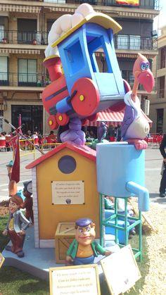 Falla infantil La Font - 1er premio