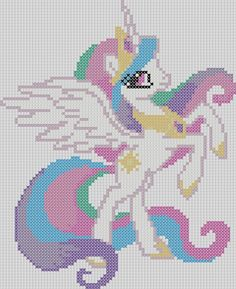 My Little Pony Inspired Pattern Princess par StitchedPixels
