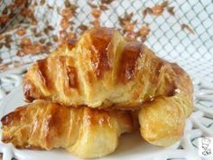 Croissant caseros masa semi-hojaldrada