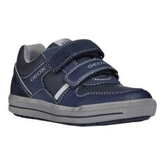 9620dbb8f4 Boys' Geox Arzach Boy 11 Sneaker J844AC - Little Kid - Navy/Grey  Polyurethane