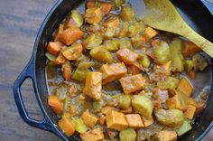 The Whole Life Nutrition Kitchen: Curried Root Vegetables