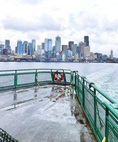 Spend a Day on Bainbridge Island, Washington State Seattle Ferry, Seattle Street, Seattle Vacation, Vacation List, Seattle Travel, Moving To Seattle, Vancouver Seattle, Vacation Ideas, Pacific Crest Trail