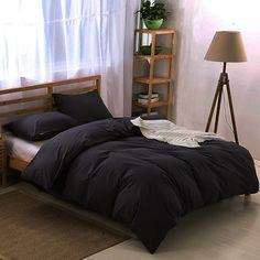 Lenjerie de pat Neagra Comanda cum orice dimensiune!