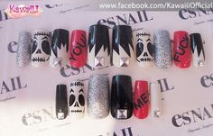 punky cute nails