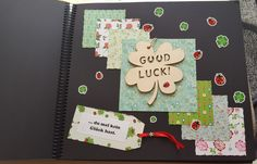 Wenn Buch Glück Office Supplies, Notebook, Book Gifts, Ideas, The Notebook, Exercise Book, Notebooks